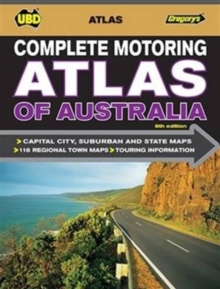 Complete Motoring Atlas of Australia 8th ed, Spiral bound Book