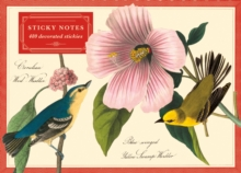 Audubon Warblers Sticky Notes, Stickers Book