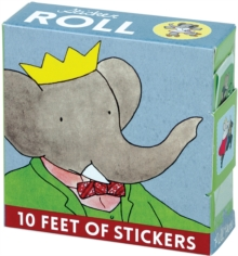 Babar Sticker Roll, Stickers Book