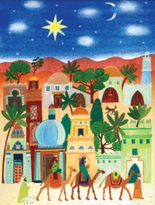 Little Town of Bethlehem Boxed Holiday Full Notecards, Cards Book