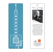 Frank Lloyd Wright Taliesin West Gate Bookmark (Blue), Miscellaneous print Book