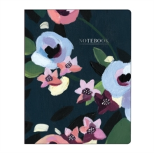 Painted Petals Deluxe Spiral Notebook : Delux Spiral Ntbk Painted Petals, Notebook / blank book Book