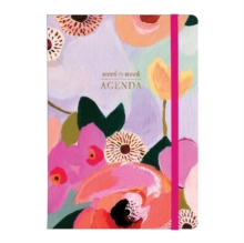 Painted Petals Gilded Planner, Record book Book
