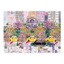Michael Storrings Spring on Park Avenue 1000 Piece Puzzle, Hardback Book