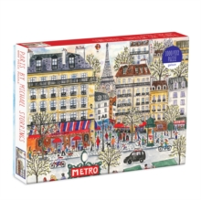 Michael Storrings Paris 1000 Piece Puzzle, Game Book