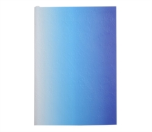 "Christian Lacroix Neon Blue A6 6"" X 4.25"" Ombre Paseo Notebook, Notebook / blank book Book"