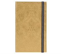 A5 Slim Hardbound Journal Paseo Gold, Notebook / blank book Book