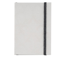A5 Paseo Embossed Notebook Pastis, Notebook / blank book Book