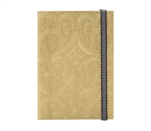 B5 Paseo Embossed Notebook Gold, Notebook / blank book Book