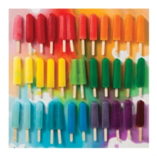 Rainbow Popsicles 500 Piece Puzzle, Jigsaw Book