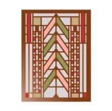 Frank Lloyd Wright Tree of Life Large Embellished Notecards, Cards Book