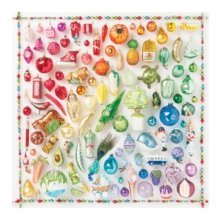 Rainbow Ornaments 500 Piece Puzzle, Game Book