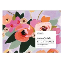 Painted Petals Sticky Notes, Stickers Book