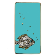 Patch NYC Fish Rectangle Porcelain Tray, Other merchandise Book