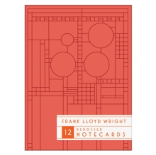 Frank Lloyd Wright Bright Geometric Debossed Notecards, Cards Book