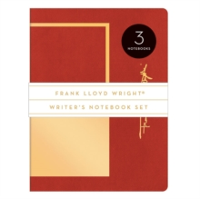 Frank Lloyd Wright Writer's Notebook Set, Notebook / blank book Book