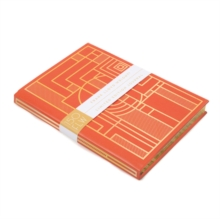 Frank Lloyd Wright 150 Anniversary Gilded B5 Journal, Notebook / blank book Book