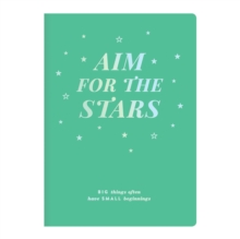 Aim For The Stars Writer's Undated Planner, Calendar Book