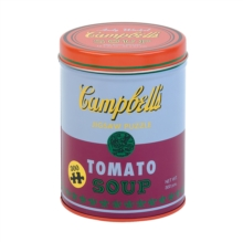 Andy Warhol Soup Can Red Violet 300 Piece Puzzle, Jigsaw Book
