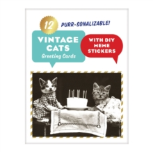 Vintage Cat Memes Diy Greeting Card Folio, Cards Book
