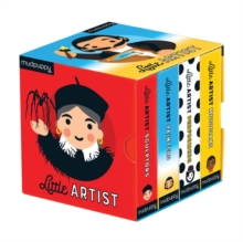 Little Artist Board Book Set, Hardback Book