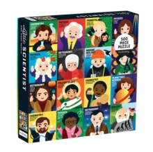 Little Scientist 500 Piece Family Puzzle, Jigsaw Book