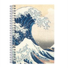 "Hokusai Great Wave Wire-O Journal 6 X 8.5"", Notebook / blank book Book"