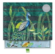 Designers Guild (Blues and Greens) Greeting Assortment Notecard Set, Cards Book