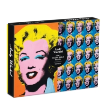Warhol Marilyn 500 Piece Double Sided Puzzle, Jigsaw Book