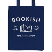 Bookish Canvas Tote Bag, Other merchandise Book