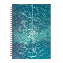 "Constellation Grid 7 x 10"" Wire-O Journal, Notebook / blank book Book"