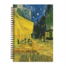 "Van Gogh Terrace at Night 7 x 10"" Wire-O Journal, Notebook / blank book Book"