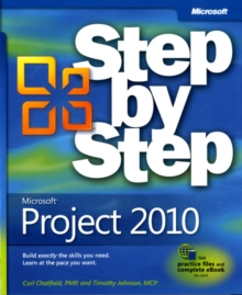 Microsoft Project 2010 Step by Step, Paperback / softback Book