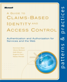 A Guide to Claims-Based Identity and Access Control, PDF eBook