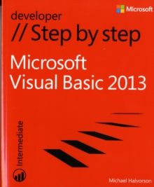 Microsoft Visual Basic 2013 Step by Step, Paperback Book