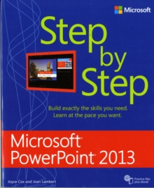 Microsoft Access 2013 Step by Step, Paperback Book