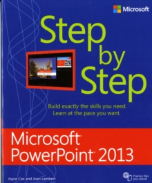 Microsoft PowerPoint 2013 Step by Step, Paperback Book