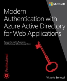 Modern Authentication with Azure Active Directory for Web Applications, Paperback / softback Book