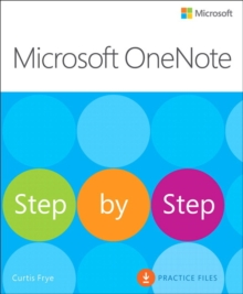 Microsoft OneNote Step by Step, Paperback / softback Book