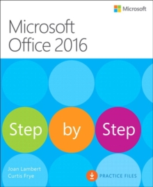 Microsoft Office 2016 Step by Step, Paperback / softback Book