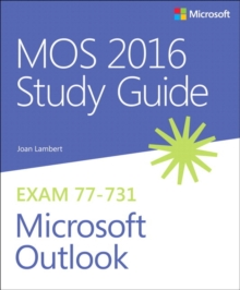 MOS 2016 Study Guide for Microsoft Outlook, Paperback Book