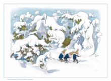 Gnomes in the Snow Advent Calendar, Calendar Book