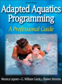 Adapted Aquatics Programming, Hardback Book