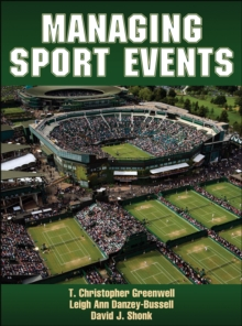 Managing Sport Events, Hardback Book