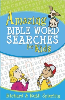 Amazing Bible Word Searches for Kids, Paperback Book