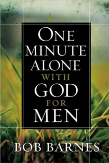 One Minute Alone with God for Men, Hardback Book