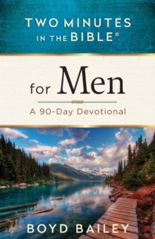 TWO MINUTES IN THE BIBLE FOR MEN, Paperback Book