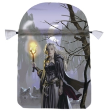 Witches Moon Satin Tarot Bag, General merchandise Book