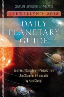 Llewellyn's Daily Planetary Guide 2018, Spiral bound Book