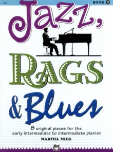 JAZZ RAGS BLUES BOOK 2 PIANO, Paperback Book